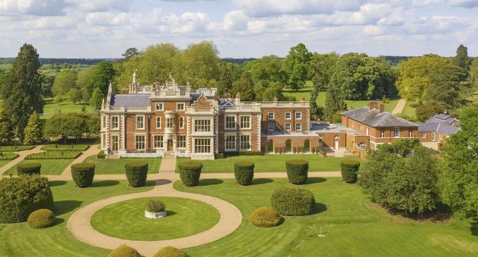 Grade II Listed Barrington Hall Set on 42 Acres in Essex for £15M (PHOTOS)