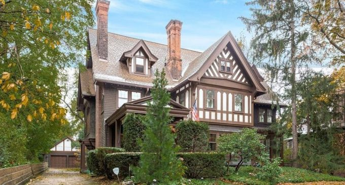 c.1903 Tudor Revival Designed by Meade and Garfield in Ohio for $515K (PHOTOS)