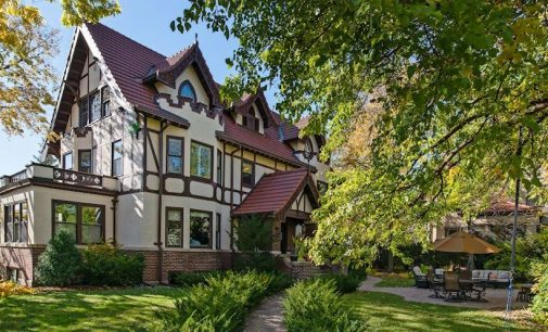 c.1909 Tudor Revival in Minneapolis' East Isles Neighbourhood for $1.95M (PHOTOS)