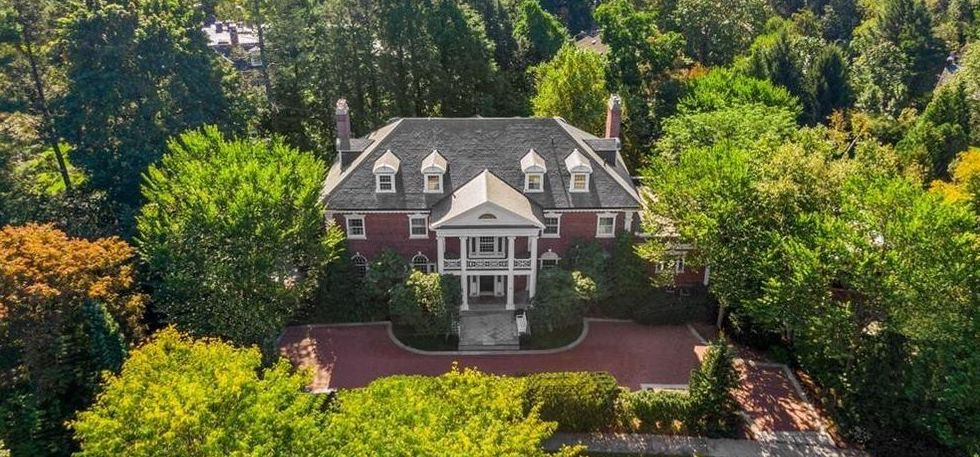 c.1900 Chestnut Hill Brick Georgian Lists for $5.9M (PHOTOS)
