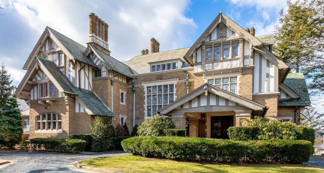 c.1912 Tudor Revival Lists in Yonkers, NY for $2.25M (PHOTOS)