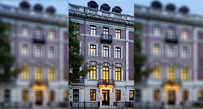 c.1906 Neo-Georgian Limestone Mansion Sells in NY for $18.2M (PHOTOS & VIDEO)