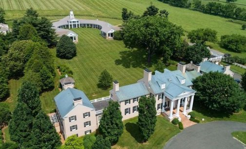 Llangollen | 1,000 Acre Historic Equestrian Estate in Upperville, VA for $34M (PHOTOS)