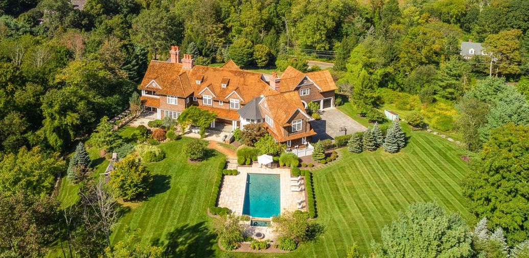 14,000 Sq. Ft. Round Hill Mansion on 4.11 Acres Reduced to $5M (PHOTOS)
