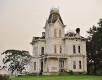 c.1878 Second Empire Farmhouse Restored to Former Glory in Ohio (PHOTOS)