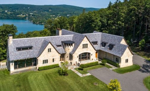 The Pinnacle   Modern English Manor by TEA2 Architects Reduced to $6.75M (PHOTOS & VIDEO)