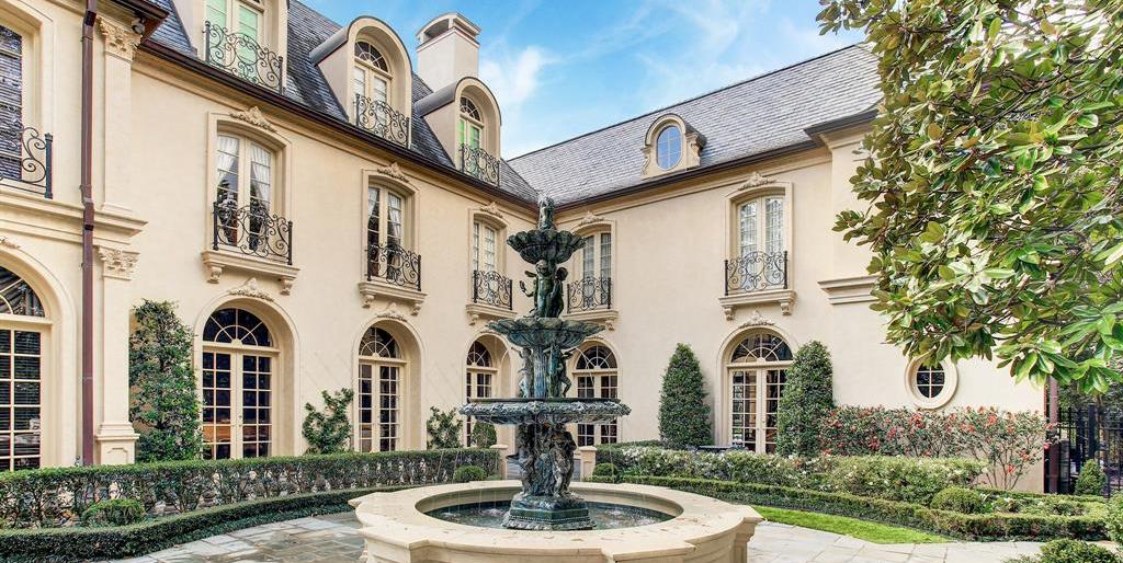Regal French Style Manor Lists in River Oaks for $8.5M (PHOTOS)