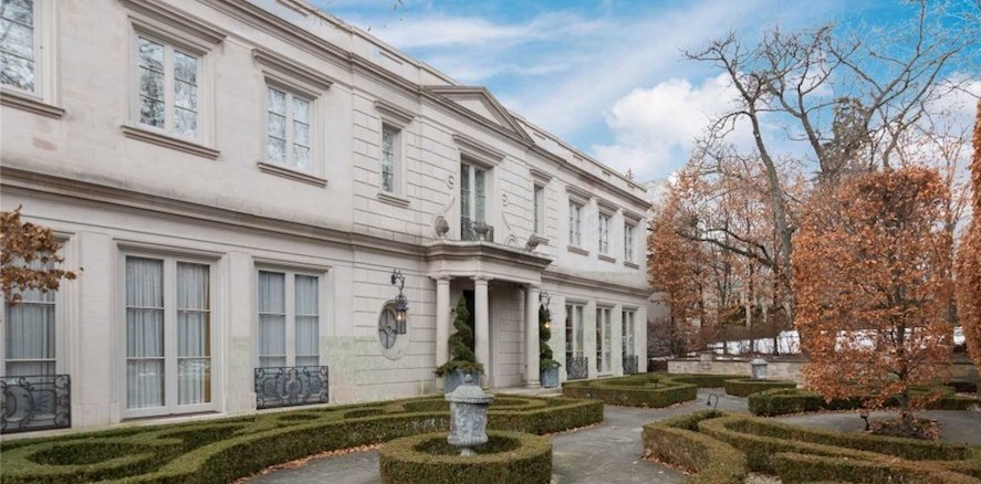 Elegant Limestone Residence Lists in Forest Hill for $18M CAD (PHOTOS)