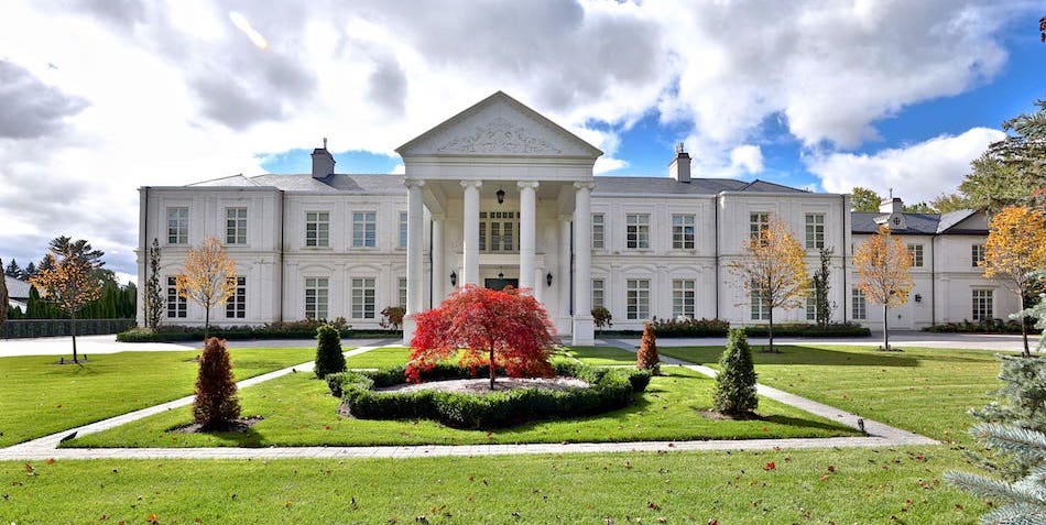 35,000 Sq. Ft. Mansion in Toronto's Upscale Bridle Path Drops to $32M CAD (PHOTOS)