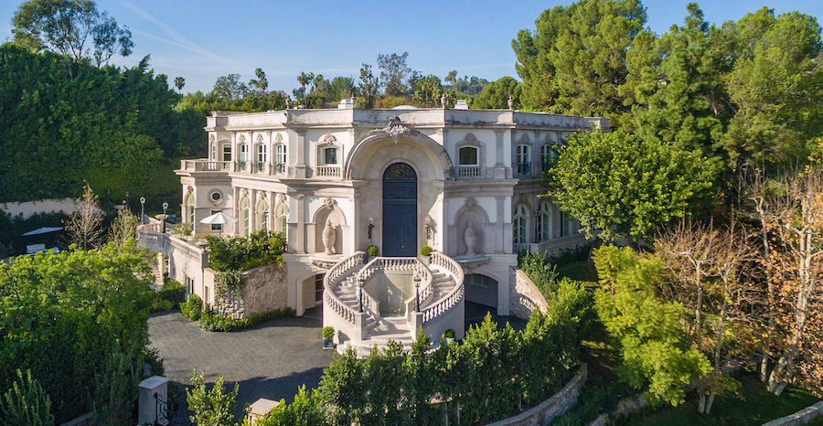 Remodelled Baroque Manor Sells for $30M in Beverly Hills (PHOTOS)