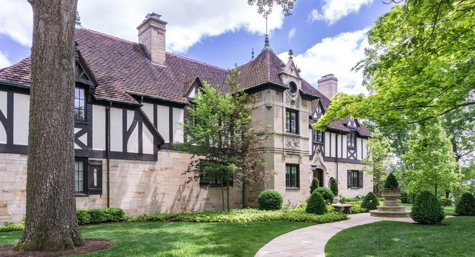 c.1936 Tudor Revival in Cincinnati's Hyde Park for $2.25M (PHOTOS)