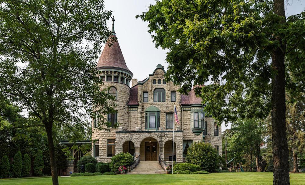 Richardsonian Romanesque Castle on Cass Sells for $960K Reopens as Castle La Crosse B&B (PHOTOS)