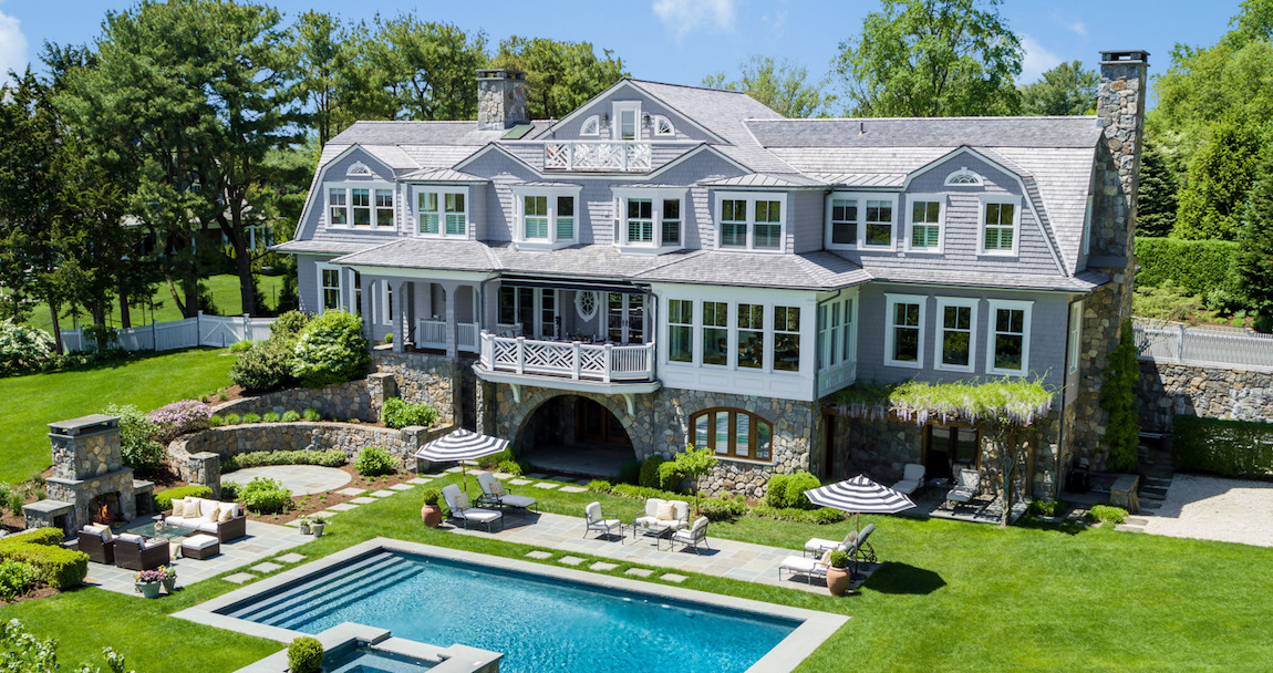 Gated Minute Man Hill Residence in Westport, CT Reduced to $6.5M (PHOTOS)
