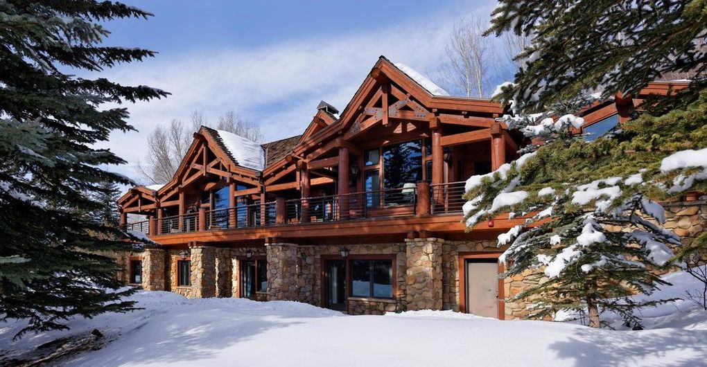 Stone & Timber Aspen Mountain Home Asks $17.5M (PHOTOS)