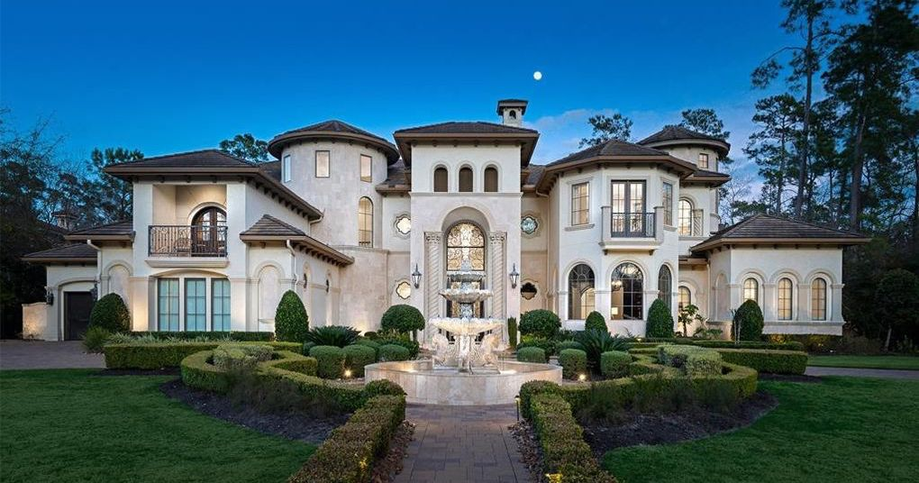 11,000 Sq. Ft. Dream Home in The Woodlands Reduced to $3.8M (PHOTOS)