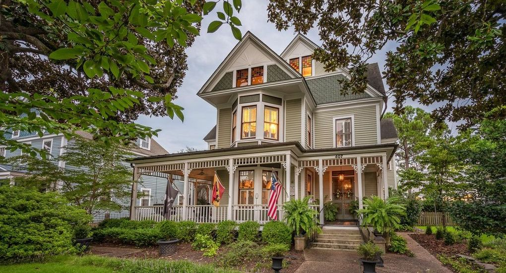 Elegant c.1890 Victorian in New Bern, NC Drops to $900K (PHOTOS)