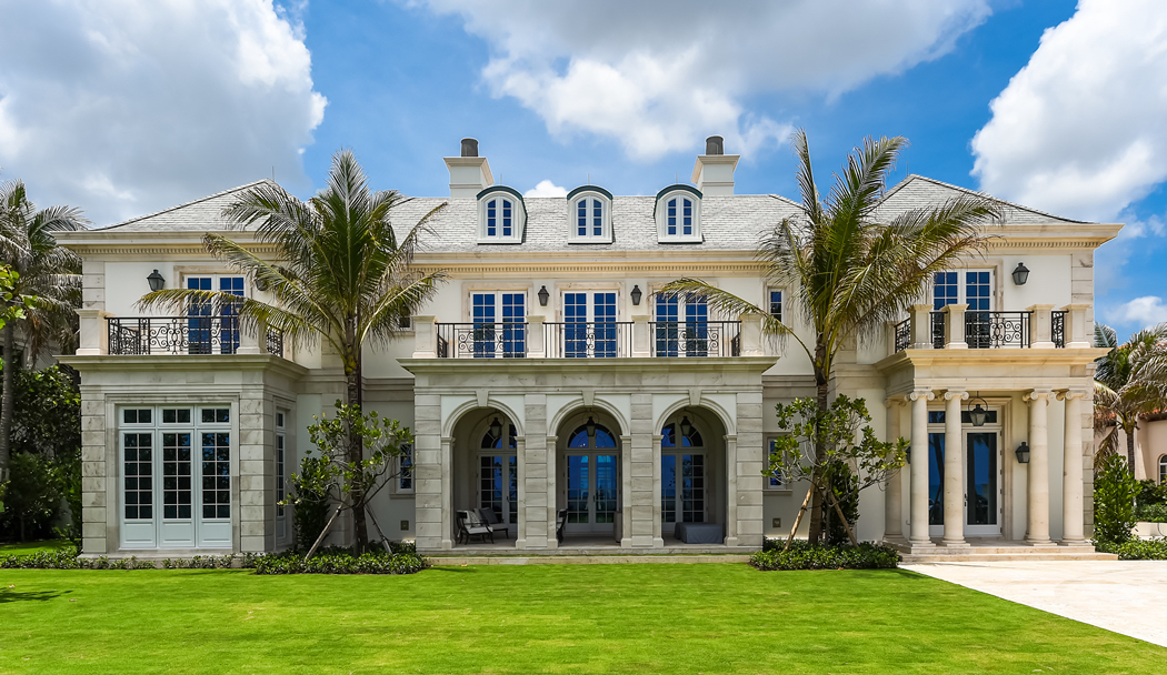 Seaside Spec Mansion Sells for $37.25M in Palm Beach (PHOTOS)