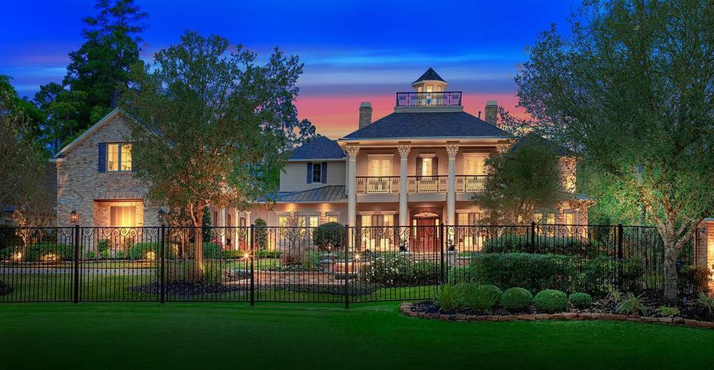 Exquisite T.D. Cox Custom Home in The Woodlands Asks $2.85M (PHOTOS)