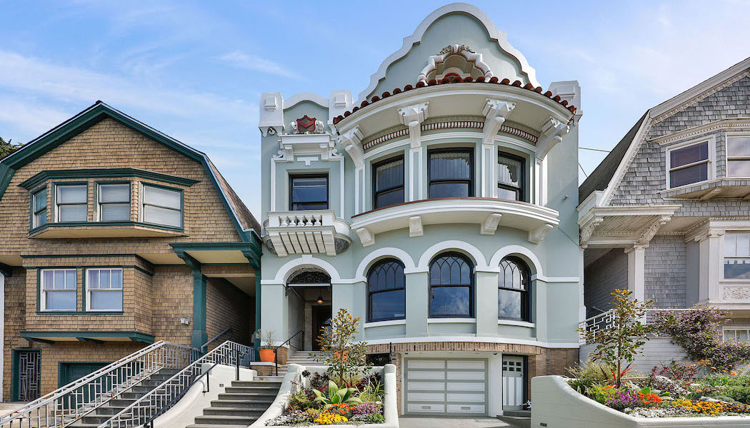 c.1908 Ashbury Heights Trophy Property Hits the Market in San Francisco for $5.35M (PHOTOS)