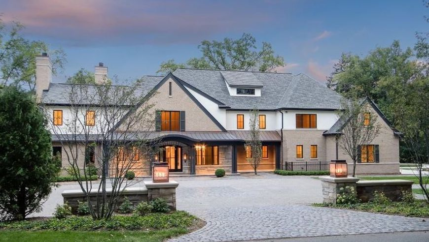 Brick Residence in Bloomfield Hills Reduced to $4.95M (PHOTOS)