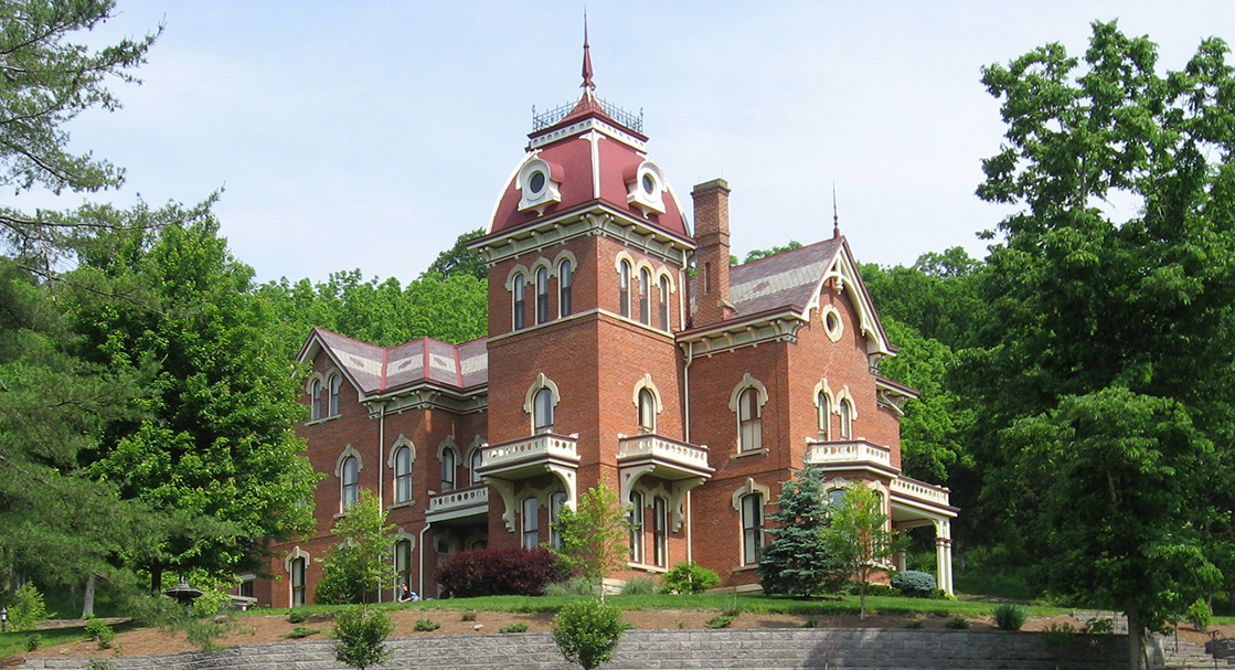 Vevay, IN's c.1874 Benjamin Schenck Mansion lists for $1.8M (PHOTOS)
