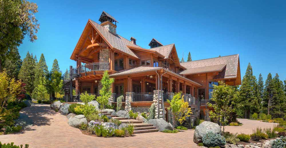 20,000 Sq. Ft. Lodge on 93 Acres in Clio, CA Gets $30M Price Cut (PHOTOS)