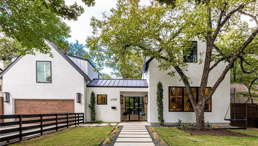 Modern Tarrytown Farmhouse Lists in Austin, TX for $3.1M (PHOTOS)