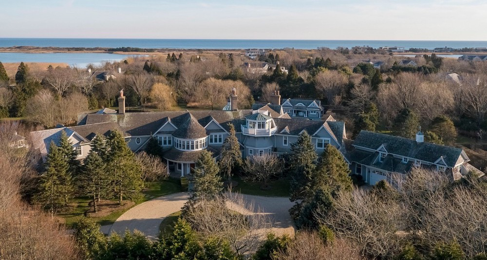 Southampton Estate with 16,700 Sq. Ft. Shingle-Style Mansion Relists for $28M (PHOTOS)