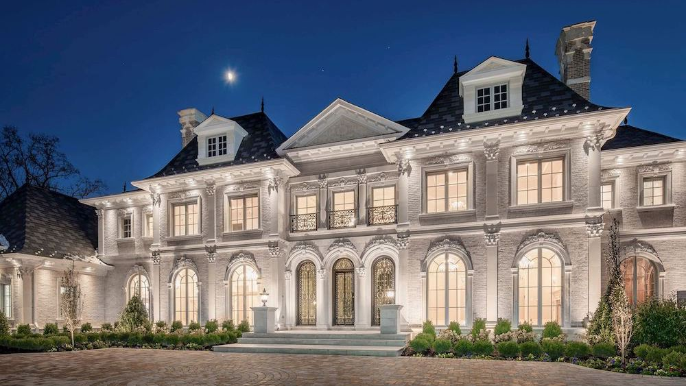 Great Falls, VA's 17,200 Sq. Ft. Château de Rivière Asks $7.6M (PHOTOS)
