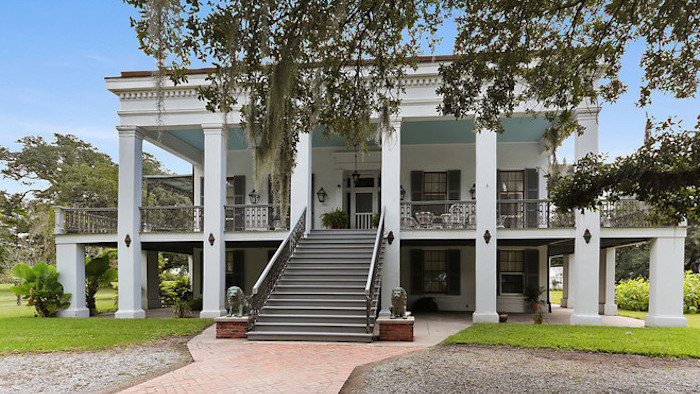 Restored Belle Alliance Greek Revival Mansion in Donaldsonville, LA Reduced to $2M (PHOTOS)