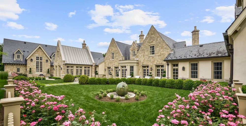 20,000 Sq. Ft. Cotswold Stone Manor in Great Falls, VA Reduced to $8M (PHOTOS)