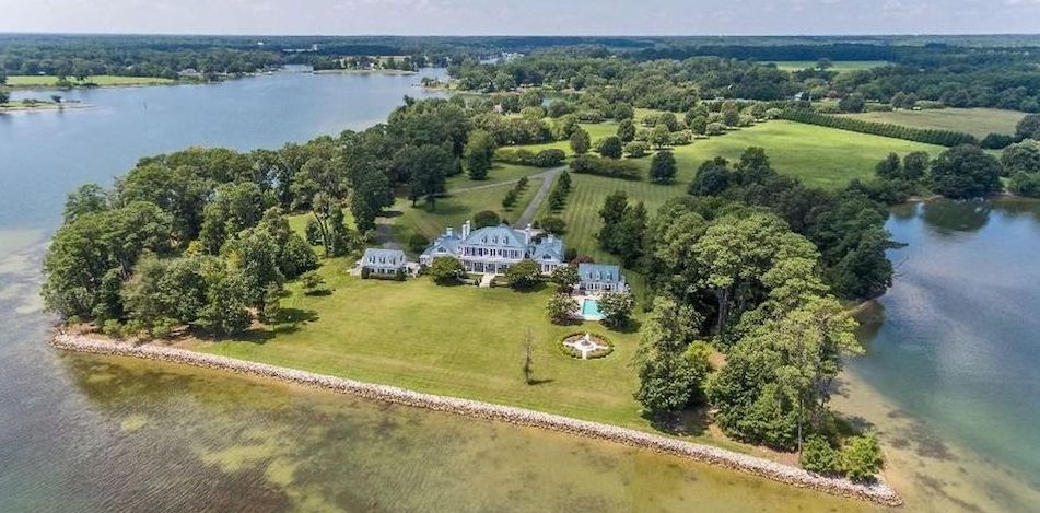 36 Acre Peninsula in White Stone, VA Asks $6.5M (PHOTOS)