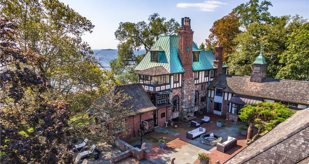 c.1901 Tudor Revival Mansion Lists in Mamaroneck, NY for $5.85M (PHOTOS)