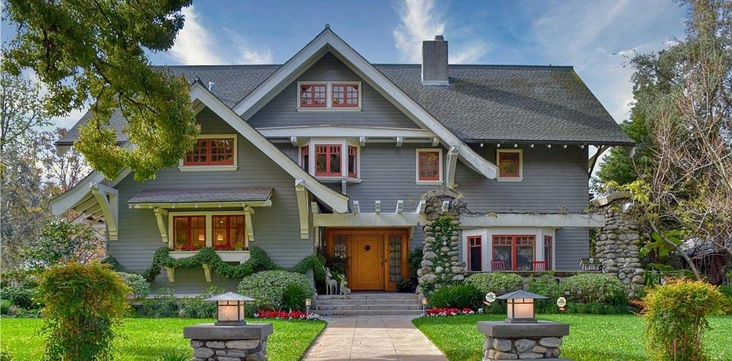 c.1906 Craftsman by Architect Frederick L. Roehrig Lists in Pasadena for $5.1M (PHOTOS)