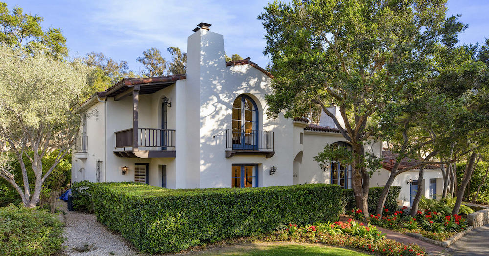 Spanish Revival Ennisbrook Casita Lists in Santa Barbara, CA for $3.9M (PHOTOS)