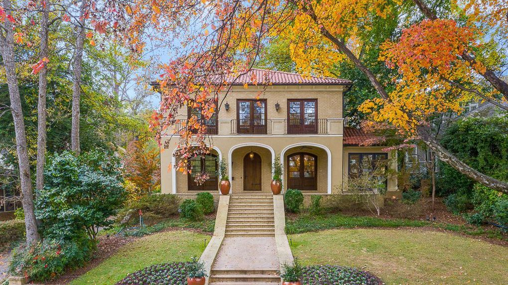 Mediterranean-Style Home in Ansley Park Ask $2.7M (PHOTOS)