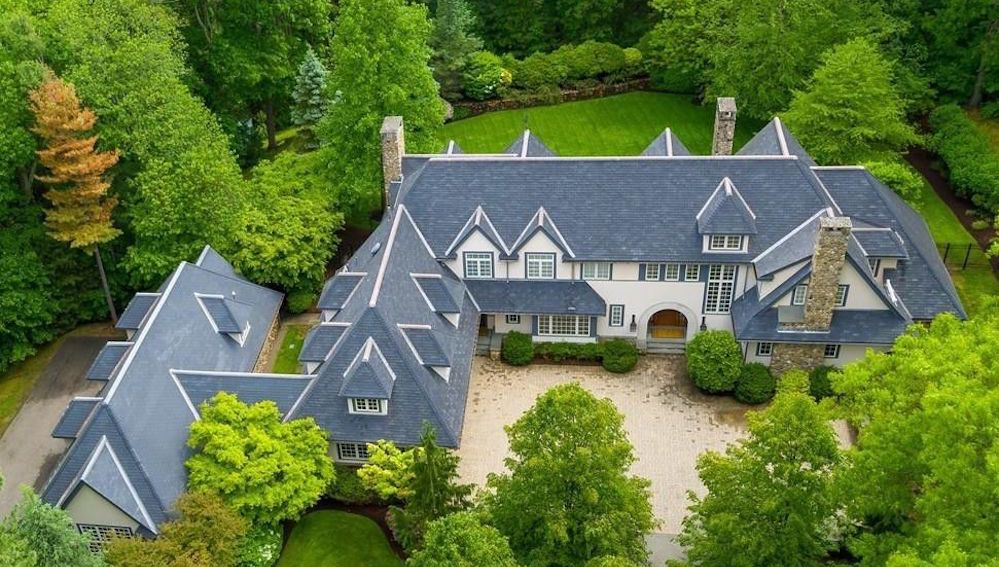Exquisite Weston Residence on 2.56 Acres with 1,800 Sq. Ft. Car Barn Asks $8M (PHOTOS)