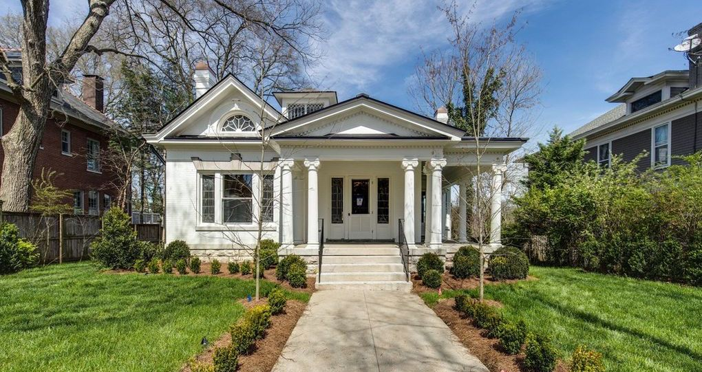 Remodelled c.1910 Residence in Historic Richland Lists in Nashville, TN for $2.2M (PHOTOS)