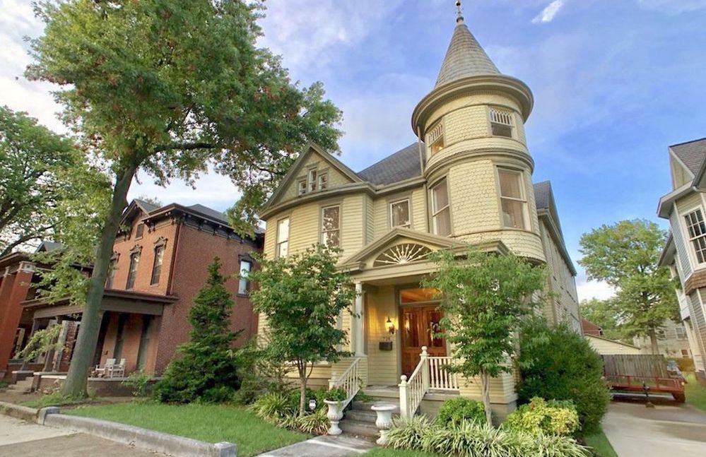 c.1892 Alexander Hutchinson House in Evansville, IN Reduced to $389K (PHOTOS)