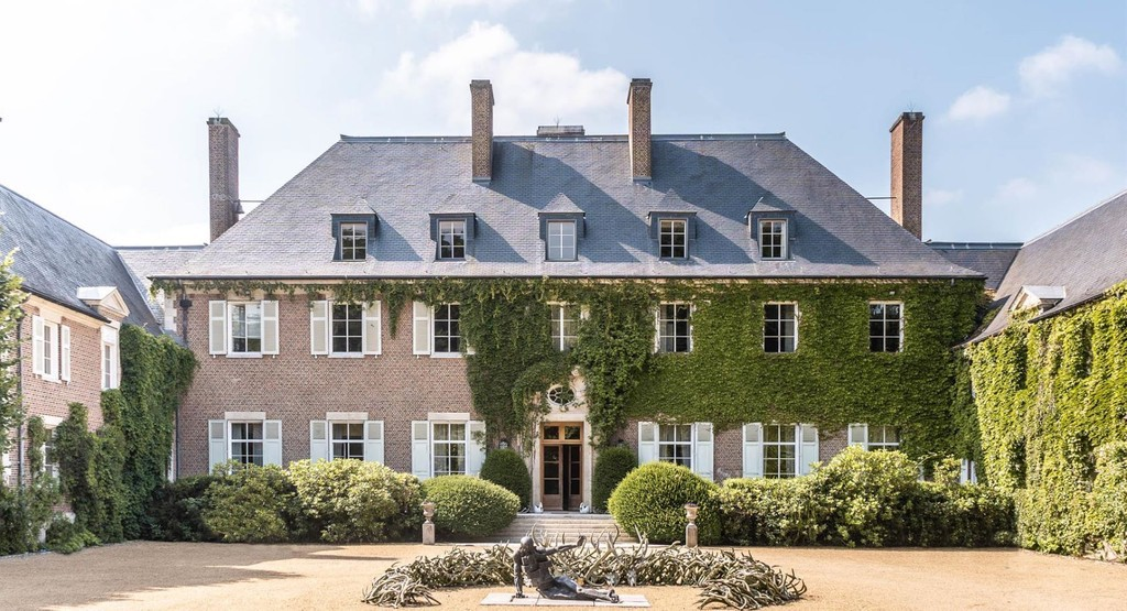 Historic c.1856 Domaine Royal D'Argenteuil in Belgium (PHOTOS)