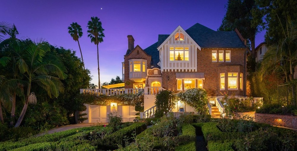 c.1926 Tudor Revival in Los Angeles, CA Reduced to $10M (PHOTOS)