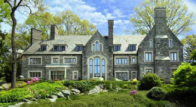 Inside a c.1930 Stone Manor Designed by Aiden and Quentin Twachtman in Greenwich (PHOTOS)