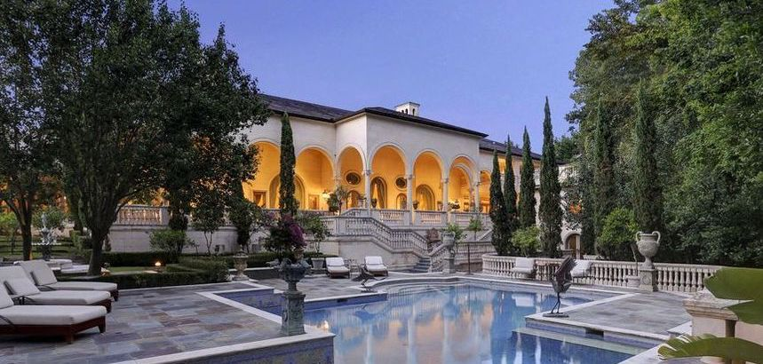 French Renaissance-Style Château in Houston, TX Reduced to $10M (PHOTOS)