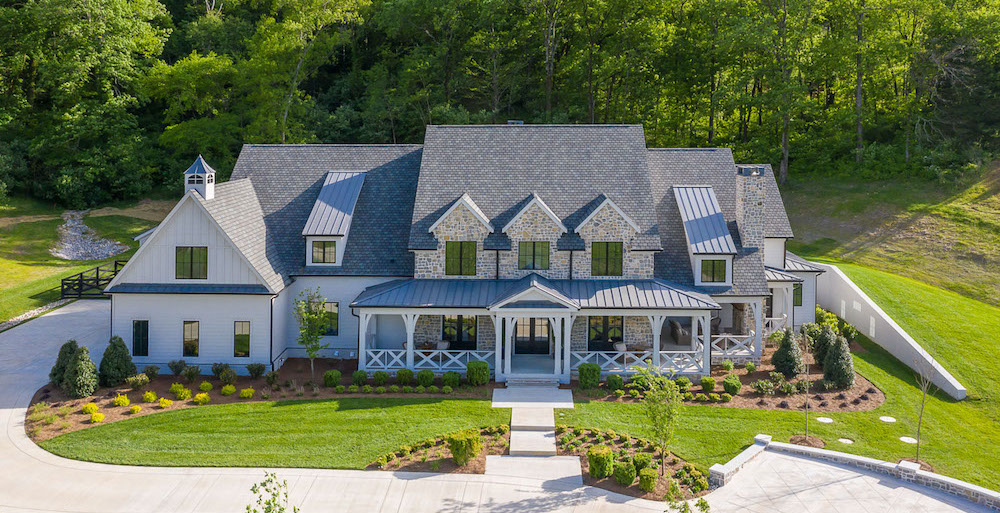 New Rustic Country Home on 5.62 Acres in Brentwood, TN lists for $3.7M (PHOTOS)