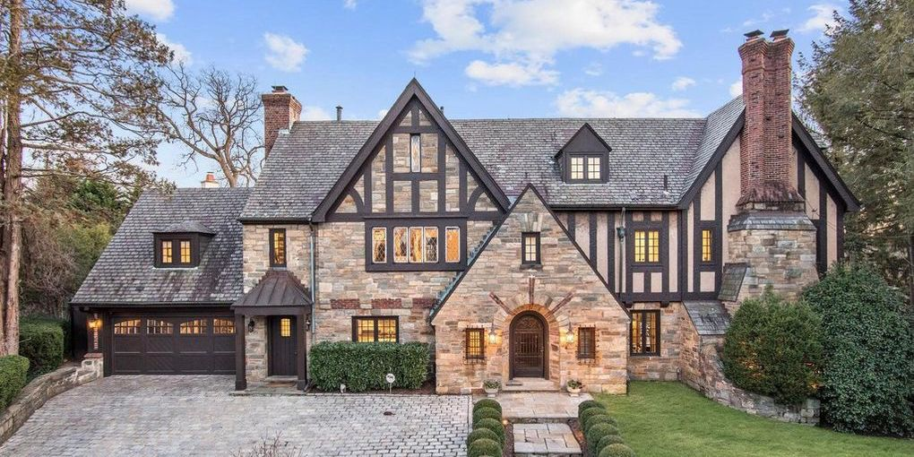 Remodelled c.1929 Stone Tudor Revival in Washington, D.C. Reduced to $5.5M (PHOTOS)