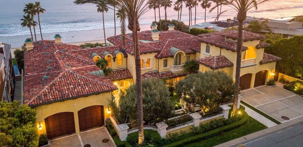 Mediterranean Dream Home on Malibu's Famed Broad Beach lists for $42M (PHOTOS)