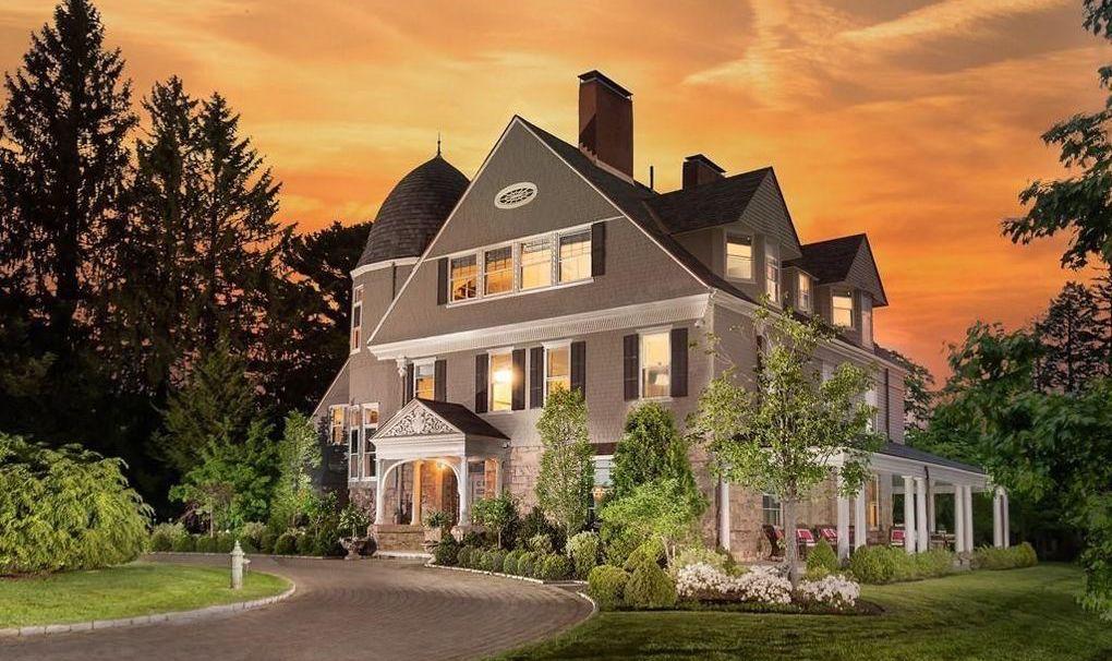 Historic c.1885 Ridgehurst Mansion lists in Weston, MA for $8.3M (PHOTOS)
