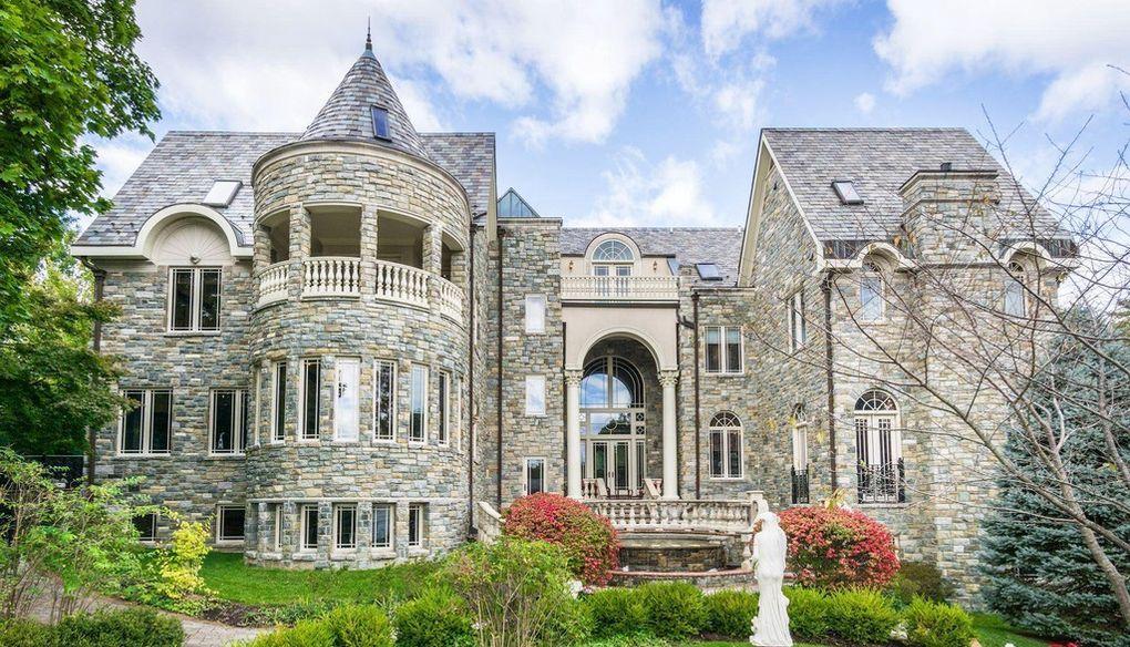 11,000 Sq. Ft. Stone Manor in Washington, D.C. asks $12M (PHOTOS)