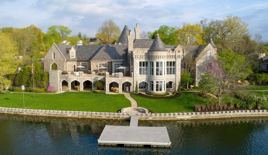 18,000 Sq. Ft. Stone Castle on Weatherby Lake Reduced to $5M (PHOTOS)