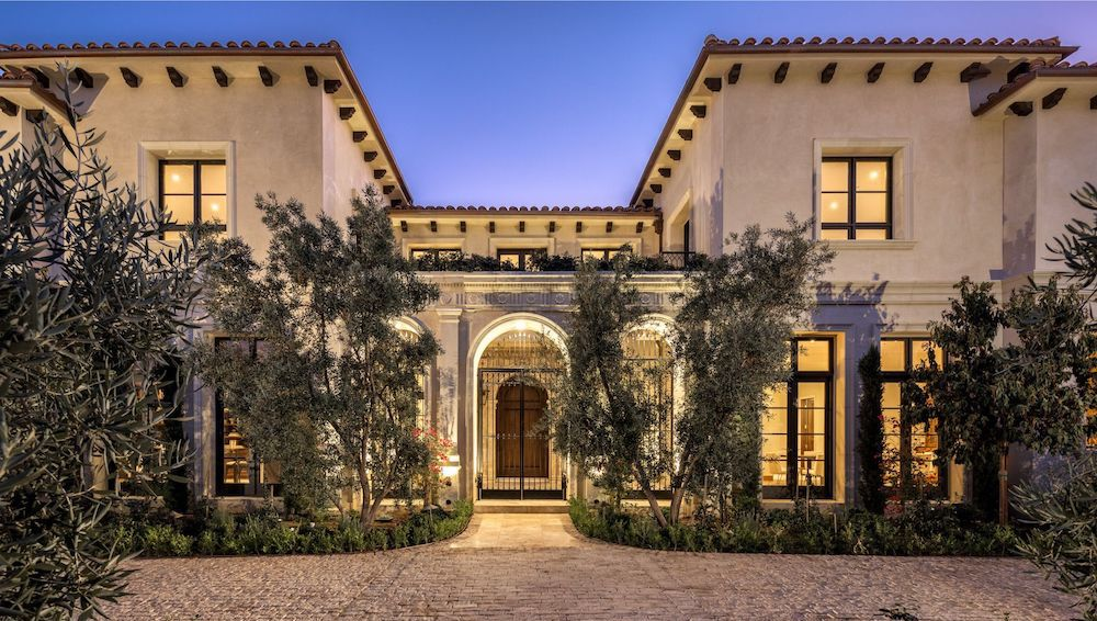 17,000 Sq. Ft. Mediterranean-Style Mansion lists in Beverly Hills for $33.4M (PHOTOS)